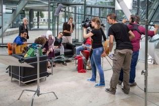 sandra schneider, kamerafrau, kameramann, hannover
